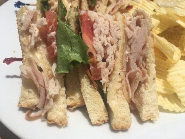Double D Club Sandwich