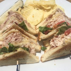 Double D Club Sandwich