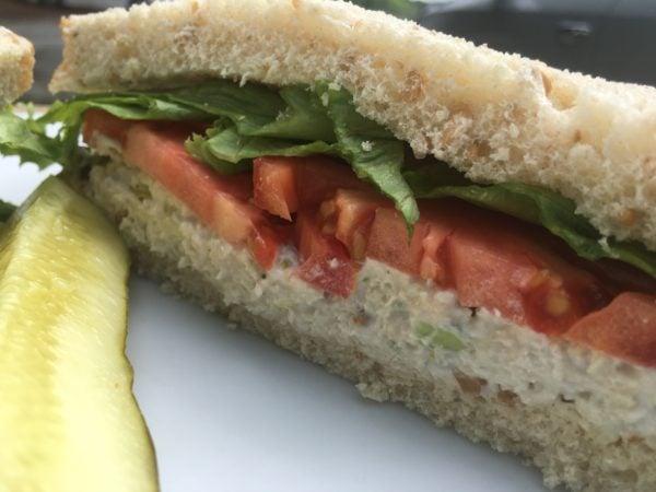 Heart-N-Soul Chicken Salad Sandwich