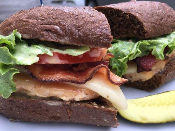 Henny Penny Mesquite Chicken Sandwich
