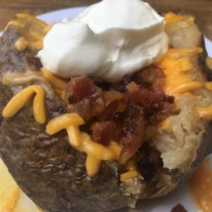 Stuffed Baked Potato Side