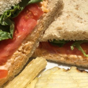 Sweet William Pimiento Cheese Sandwich