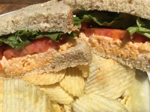 Sweet William Pimiento Cheese Sandwich