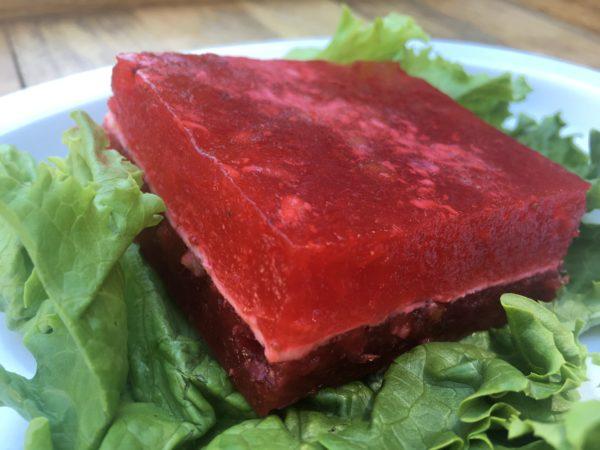 Strawberry Congealed Salad