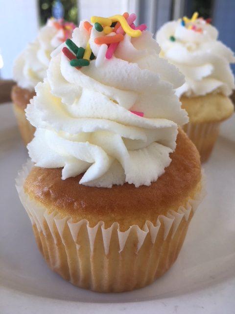 Birthday Cake Cupcake