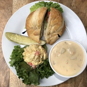 Chicken Salad Croissant Special (Fall/Winter)