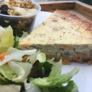 Chicken Pecan Quiche 2