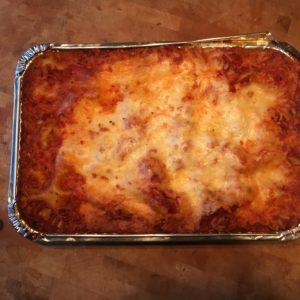 Lasagna Frozen Casserole Baked