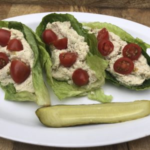 Heart-N-Soul Chicken Salad Boats