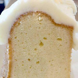 Vanilla Pound Cake Slice