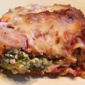 Veggie Lasagna Frozen Casserole