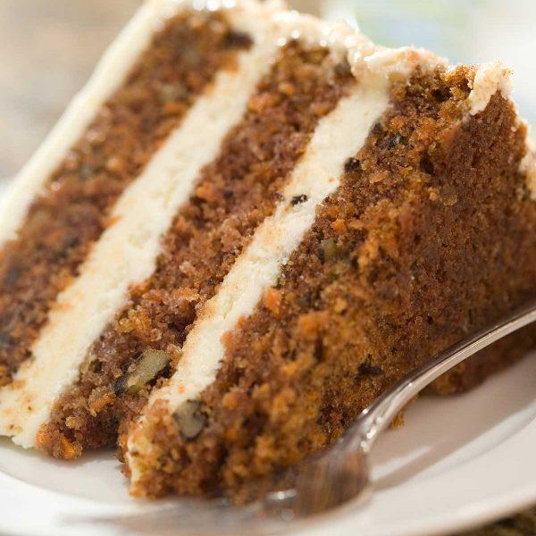 Carrot Cake - Christmas Online Order Menu Menu