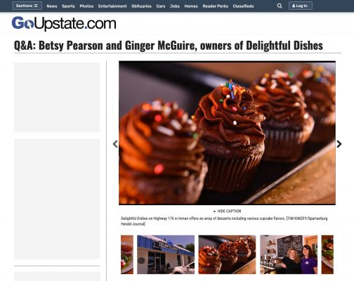 Q&A: Betsy Pearson and Ginger McGuire, owners of Delightful Dishes