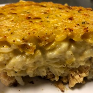 Chicken and Rice Frozen Casserole