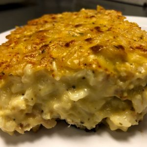 Chicken & Rice Frozen Casserole