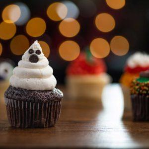 Halloween Ghost Cupcake